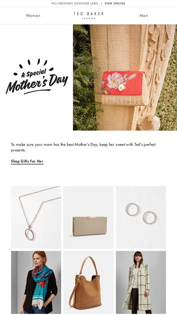 c56098a26c45 Ted Baker London Email Newsletters