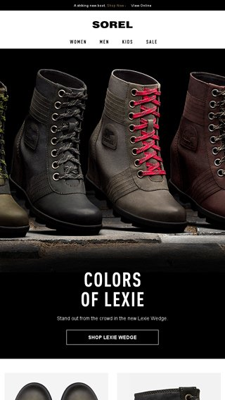 8429930619d6 Introducing  The colors of Lexie. - SOREL Email Archive